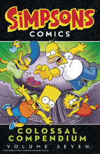 Image: Simpsons Comics Colossal Compendium Vol. 07 SC  - Harper Design