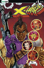 Image: X-Liefelds #1 (cover C - Kent) - Keenspot Entertainment