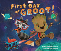 Image: First Day of Groot Picture Book  (Young Reader) - Marvel Press