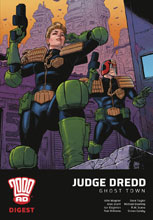 Image: Judge Dredd: Ghost Town - 2000 A.D. Digest  - Rebellion / 2000AD