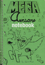 Image: Mega Awesome Notebook SC  - Schiffer Publishing