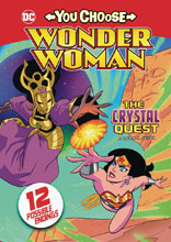 Image: Wonder Woman: You Choose - Crystal Quest SC  - Stone Arch Books