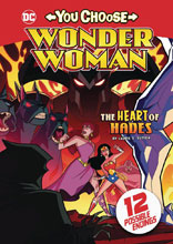 Image: Wonder Woman: You Choose - Heart of Hades SC  - Stone Arch Books