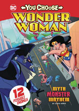 Image: Wonder Woman You Choose: Myth Monster Mayhem SC  - Stone Arch Books