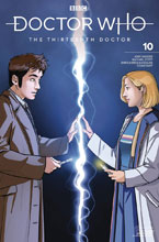 Image: Doctor Who: The 13th Doctor #10 (cover C - 10th Doctor) - Titan Comics