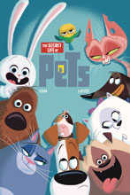 Image: Secret Life of Pets 1 SC  - Titan Comics