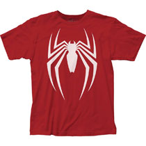 Image: Spider-Man T-Shirt: Video Game Logo  (L) - Impact Merchandising