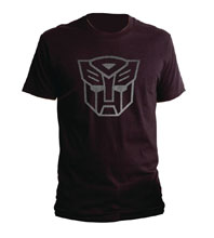 Image: Transformers T-Shirt: Autobots Reflective Logo  (XL) - Goodie Two Sleeves