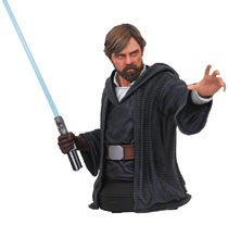 Image: Star Wars Bust: Last Jedi - Luke Skywalker  - Diamond Select Toys LLC