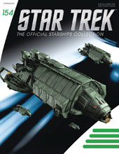 Image: Star Trek Starships Figure Magazine #154 (Klingon Rebel Transport) - Eaglemoss Publications Ltd