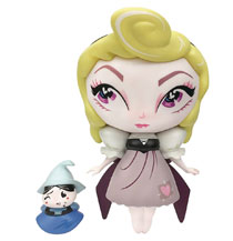 Image: Miss Mindy Vinyl Figure: Aurora with Mini Merryweather  - Enesco Corporation