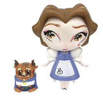 Image: Miss Mindy Vinyl Figure: Belle with Mini Beast  - Enesco Corporation