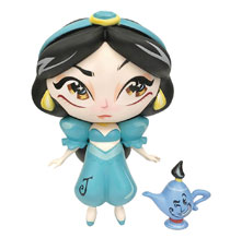 Image: Miss Mindy Vinyl Figure: Jasmine with Mini Genie  - Enesco Corporation