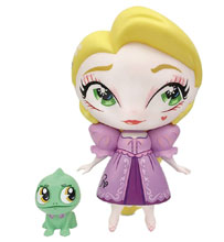 Image: Miss Mindy Vinyl Figure: Rapunzel with Mini Pascal  - Enesco Corporation