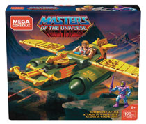 Image: Mega Construx Masters of the Universe Construction Set: Wind Raider Attack  - Mattel Toys