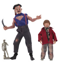 Image: Goonies Retro Action Figure 2-Pack: Sloth & Chunk  (8-inch) - Neca