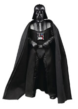 Image: Star Wars: Black Hyperreal Darth Vader Action Figure Case  (8-inch) - Hasbro Toy Group