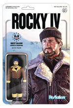 Image: Rocky Reaction Figure: Rocky Winter Training  - Super 7