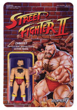 Image: Street Fighter Reaction Figure: Zangief  - Super 7