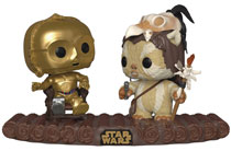 Image: Pop! Movie Moment Vinyl Figure: Star Wars - C-3PO on Throne  - Funko