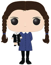 Image: POP! Television Vinyl Figure 811: The Addams Family - Wednesday Addams  - Funko