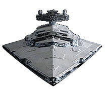 Image: Star Wars Model Kit: Star Destroyer  (1/5000 scale) - Bandai Hobby