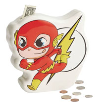 Image: DC Heroes Super Friends Coin Bank: Flash  - Enesco Corporation