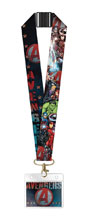 Image: Marvel Deluxe Lanyard: Avengers Assemble  - Monogram Products