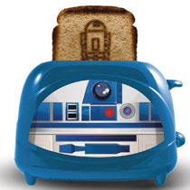 Image: Star Wars Toaster: R2D2 Empire Collection  - Uncanny Brands LLC
