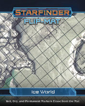 Image: Starfinder Flip-Mat: Ice World  - Paizo Inc