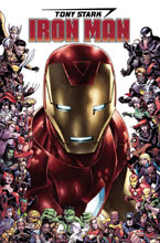 Image: Tony Stark: Iron Man #15 (variant 80th Anniversary Frame cover - Cheung) - Marvel Comics