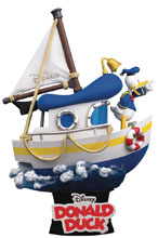 Image: Disney DS-029 D-Stage Series PX 6 Inch Statue: Donald Ducks Boat  - Beast Kingdom Co., Ltd