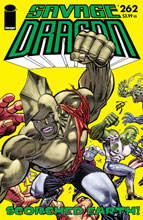 Image: Savage Dragon #262 (cover A - Larsen) - Image Comics