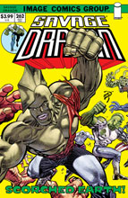 Image: Savage Dragon #262 (cover B - Retro 70S Trade Dress) - Image Comics