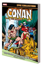 Image: Conan Original Marvel Years Epic Collection: Curse Golden Skull SC  - Marvel Comics