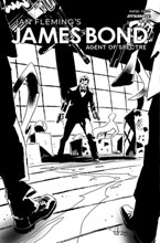 Image: James Bond: Agent of Spectre #5 (cover C incentive 1:20 - Casalanguida B&W) - Dynamite
