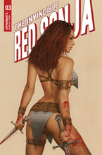 Image: Invincible Red Sonja #3 (cover C - Celina) - Dynamite