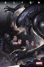 Image: Alien #4 (DFE signed - Kennedy Johnson) - Dynamic Forces