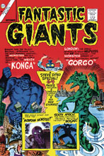 Image: Fantastic Giants  (Facsimile edition) - Fantaco Enterprises Inc.