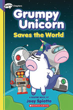 Image: Grumpy Unicorn YA Vol. 02: Saves the World GN  - Graphix