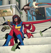 Image: World of Reading: This is Ms. Marvel  - Marvel Press