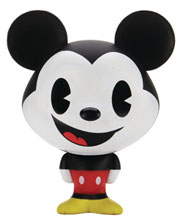 Image: Disney Bhunny Stylized Figure: Mickey Mouse  (4-inch) - Kid Robot