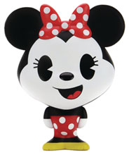 Image: Disney Bhunny Stylized Figure: Minnie Mouse  (4-inch) - Kid Robot