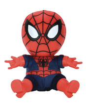 Image: Marvel Roto Phunny Plush: Classic Spider-Man  (8-inch) - Kid Robot
