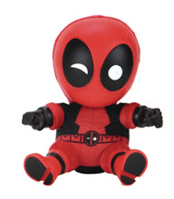 Image: Marvel Roto Phunny Plush: Deadpool  (8-inch) - Kid Robot