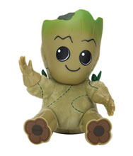 Image: Marvel Roto Phunny Plush: Groot  (8-inch) - Kid Robot