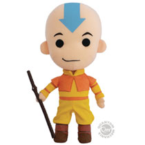 Image: Avatar: The Last Airbender Q-Pal Plush - Aang  - Quantum Mechanix Inc