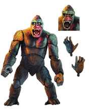 Image: King Kong Ultimate Action Figure: Illustrated Version  (7-inch) - Neca