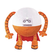 Image: Dog Man Plush: 80-HD  (9-inch) - Merry Makers Inc.