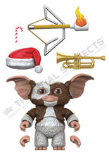 Image: BST AXN Action Figure: Gremlins - Gizmo  (5-inch) - The Loyal Subjects